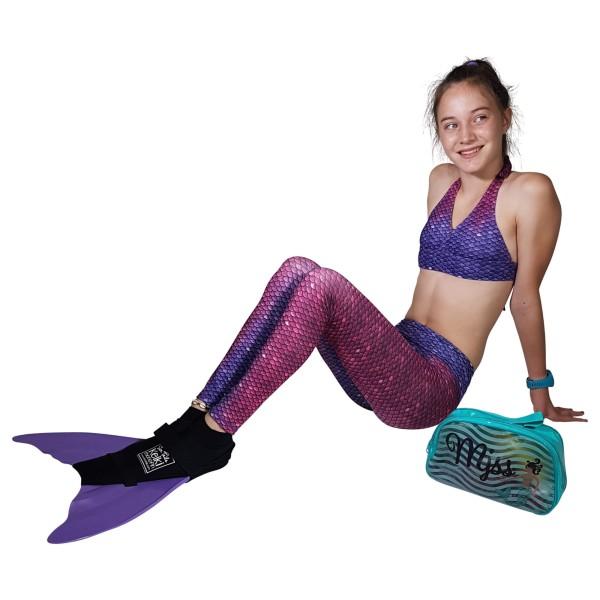 Mermaid Tail Leggings Bali Blush